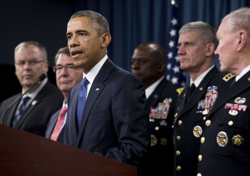 Why Obama is sticking with his Islamic State strategy