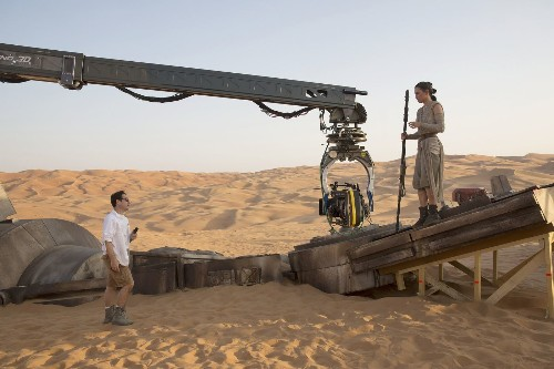 J.J. Abrams on going old school and how 'Star Wars' differs from 'Star Trek'