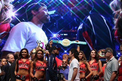 Mayweather Jr.-Pacquiao fight packs a wallop with hype, excitement