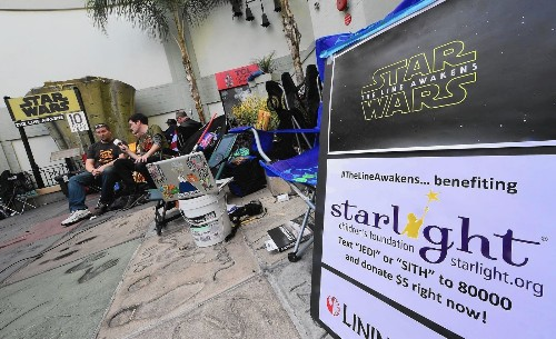 'Star Wars' is latest film to show why Hollywood wants you to buy tickets in advance - Los Angeles Times