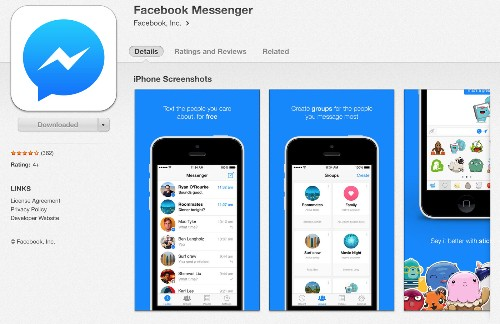 Some upset with upcoming change to messages on Facebook mobile app