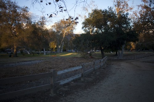 Whoa! This equestrian trail in Griffith Park is great for walking