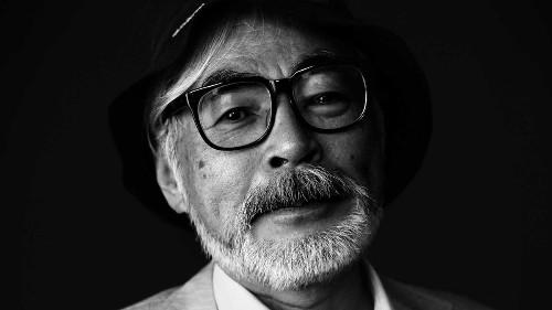 Hayao Miyazaki isn't making features but is at work on manga