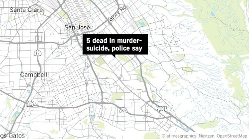 Gunman kills 4 people and himself in San Jose, police say