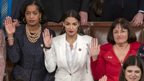 Right-wing blowhards are having a tough time with this whole women-in-power thing in Congress