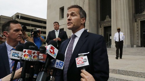Missouri Gov. Eric Greitens no longer facing sex-related charge
