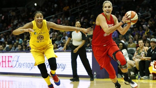 Candace Parker's return is spoiled in Sparks' lopsided loss to Mystics