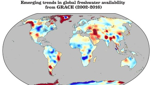 Earth's dismal water future, mapped