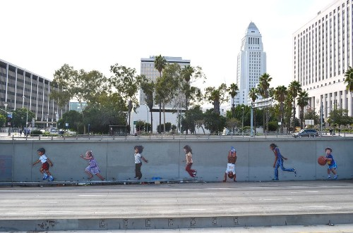 Google expands Street Art project, holds party in L.A.