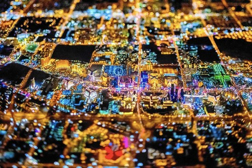 High-flying photographer Vincent Laforet captures the radiant world below him - Los Angeles Times
