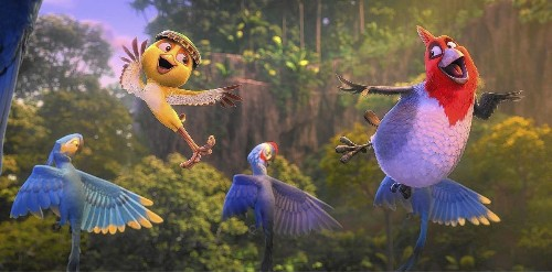 Flying down to 'Rio 2'; getting 'Under the Skin'