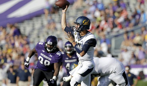 Pac-12 football: Cal holds off Northwestern, 31-24