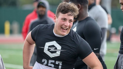 A mean streak is paying off nicely for St. John Bosco offensive lineman Drake Metcalf
