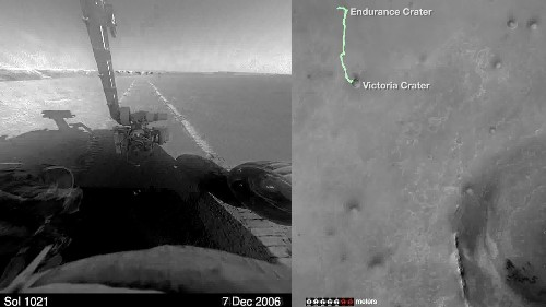 Watch NASA's Opportunity rover finish a marathon on Mars - Los Angeles Times