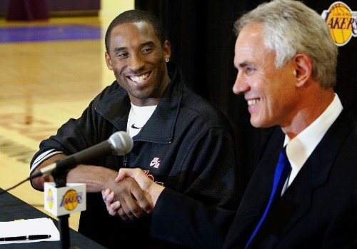 Mitch Kupchak says Lakers can't move on until Kobe Bryant retires