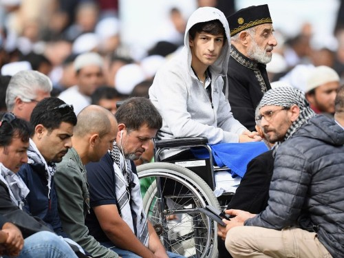 Brokenhearted but not broken: New Zealand prays together a week after mosque attacks