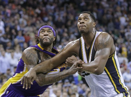 Lakers able to take win over Utah Jazz, 100-97, in stride