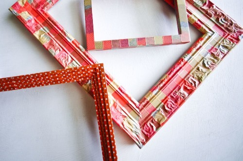 Washi tape picture frames: Easy DIY project for happier holidays - Los Angeles Times