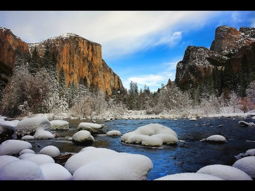 Want to see winter in Yosemite? Check out these snowy photos -- and go now