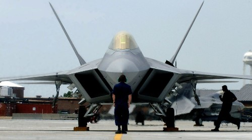 The F-22, world's priciest fighter jet, finally flies in combat