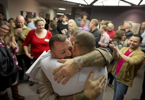Appeals court won't immediately halt same-sex marriage in Utah - Los Angeles Times