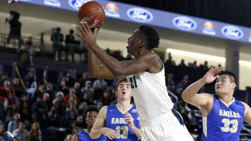 Onyeka Okongwu of Chino Hills repeats as The Times' boys' basketball player of the year