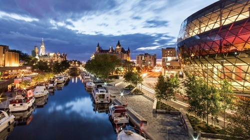 Try a drive-it-yourself boat tour through eastern Canada's rivers and canals