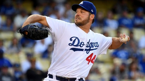 Dodgers beat the Giants but lose Rich Hill early in the game