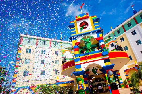 Legoland's second U.S. hotel blasts off at the Florida theme park