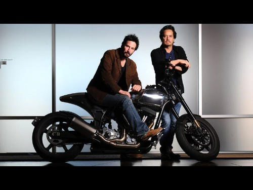Keanu Reeves' latest production: line of $78,000 motorcycles - Los Angeles Times