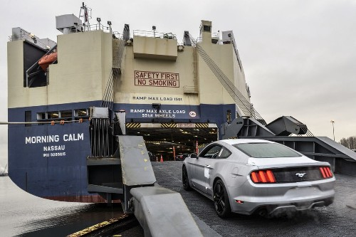 Ford gets ready to export Mustang to China, Europe