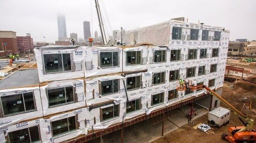 Marriott turns to prefabricated rooms for quicker hotel construction