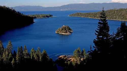 Lake Tahoe's cobalt blue waters have seen a stunning improvement in clarity