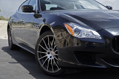 Maserati Quattroporte GTS is part luxury sedan and part race car