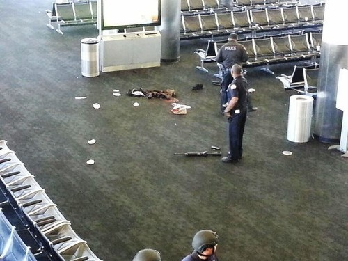 LAX shooting suspect critical, hindering investigation, official says
