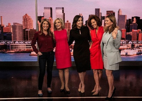 The women of MSNBC are reshaping the television landscape