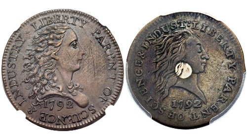 Two 1-cent coins from early U.S. sell for combined $869,500 at O.C. auction
