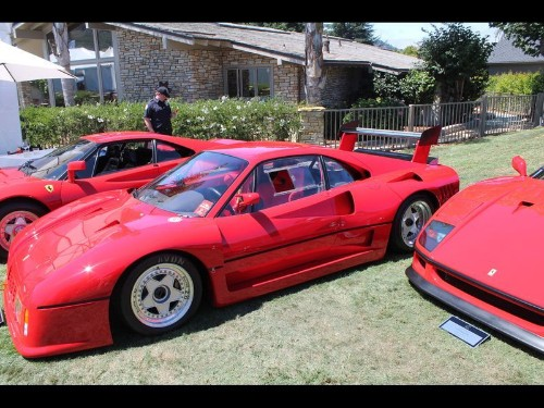 2014 Pebble Beach: L.A. collector shows off his Ferraris - Los Angeles Times