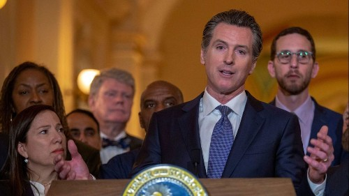 The rich buying names on college buildings 'legal bribery,' Gov. Gavin Newsom says