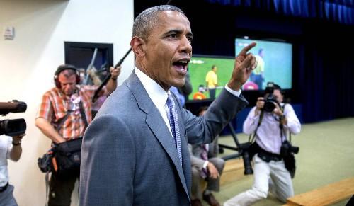 President Obama congratulates U.S. soccer team - Los Angeles Times