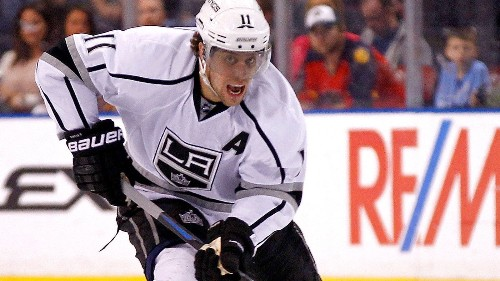 Kings' Anze Kopitar says his focus is on hockey, not his contract