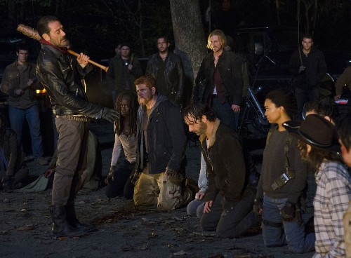 'Walking Dead': Brutal cliffhanger season finale took the cast to 'this deep, dark place'