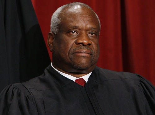 Supreme Court Justice Clarence Thomas asks questions in court for first time in 10 years