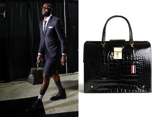 LeBron James carries a $41,000 bag. Here's your chance to get into the man-bag game with these picks - Los Angeles Times
