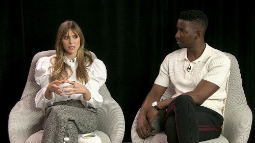 Elizabeth Olsen and Mamoudou Athie navigate grief in 'Sorry for Your Loss'
