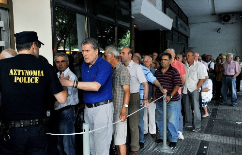 Did a glimpse of life without the euro prompt Greek U-turn?