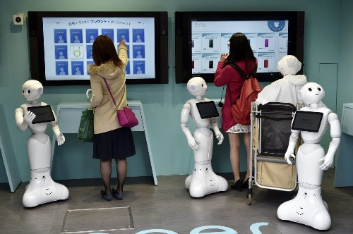 Robots are coming for your job