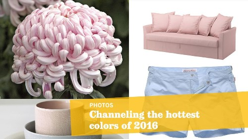 Pantone's colors of 2016 channel baby blue and pink