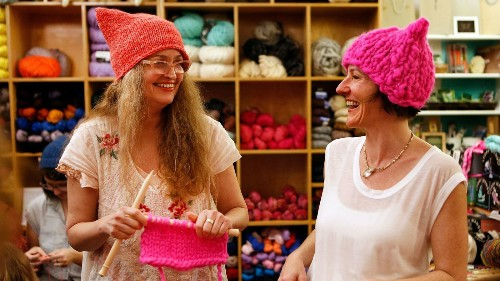 How these Los Angeles-born pink hats became a worldwide symbol of the anti-Trump women's march - Los Angeles Times