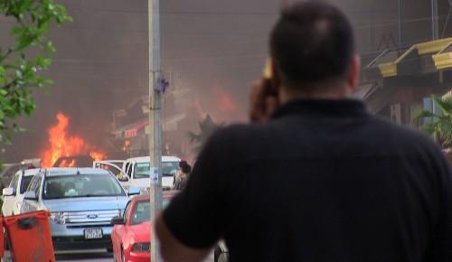 Car bombing targets U.S. consulate in Irbil, Iraq